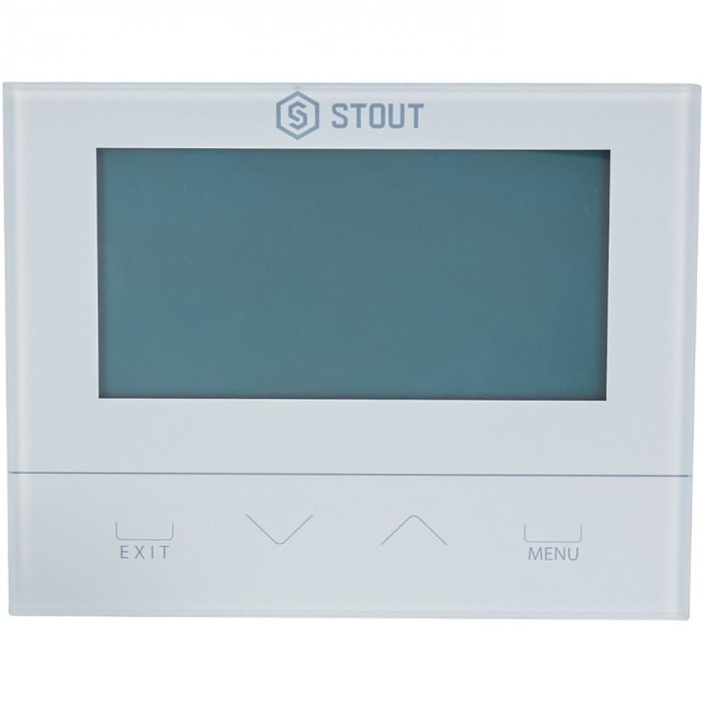 Купить Беспроводной комнатный двухпозиционный регулятор st-292v2, белый stout ste-0101-029221 rg008v0jps8gl4