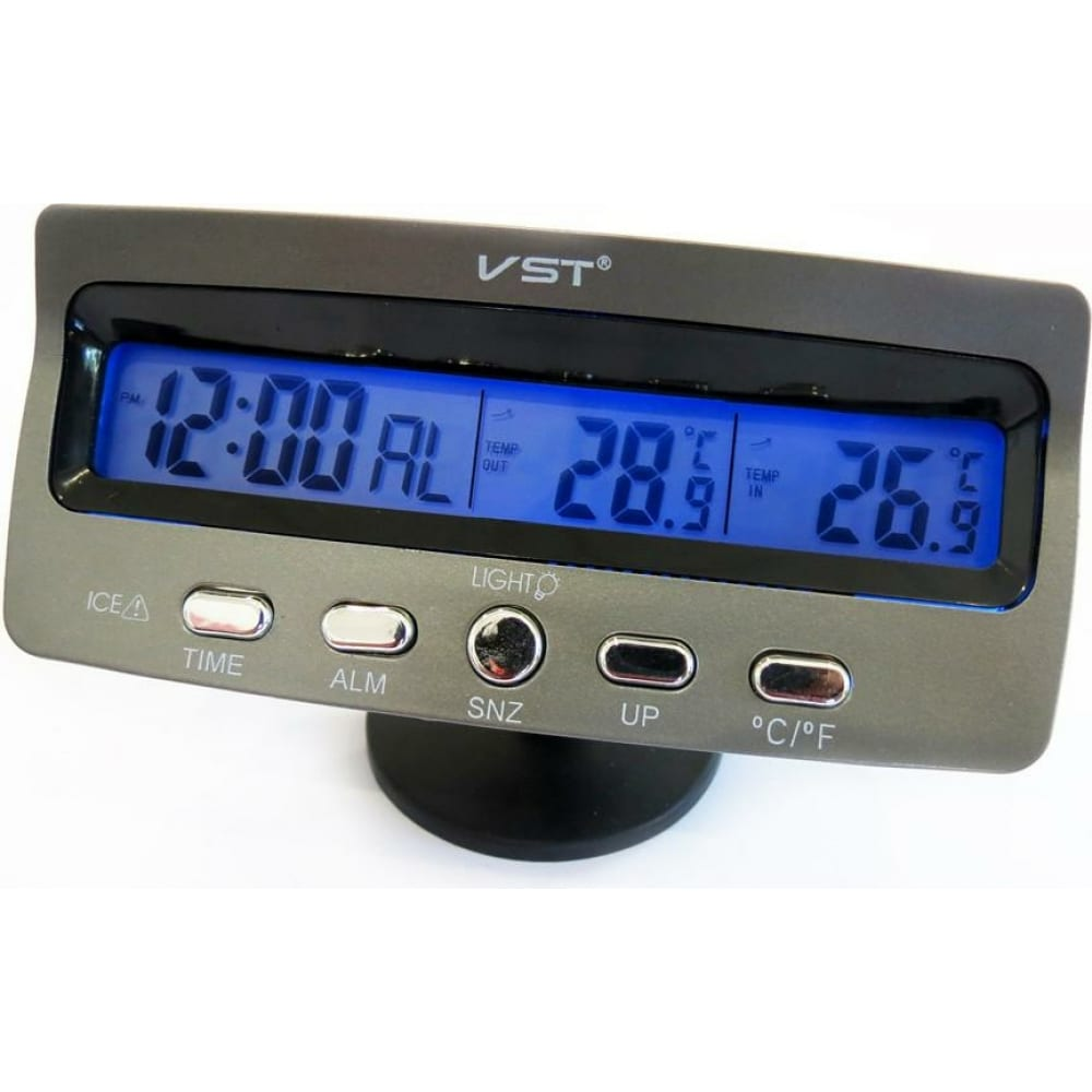 Часы-термометр вымпел vst-7045v 9200