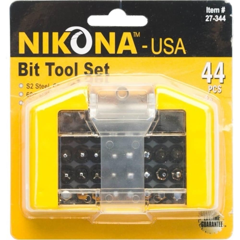 Купить Набор бит с магнитным держателем (44 предмета; s2; хромированные) nikona 27-344