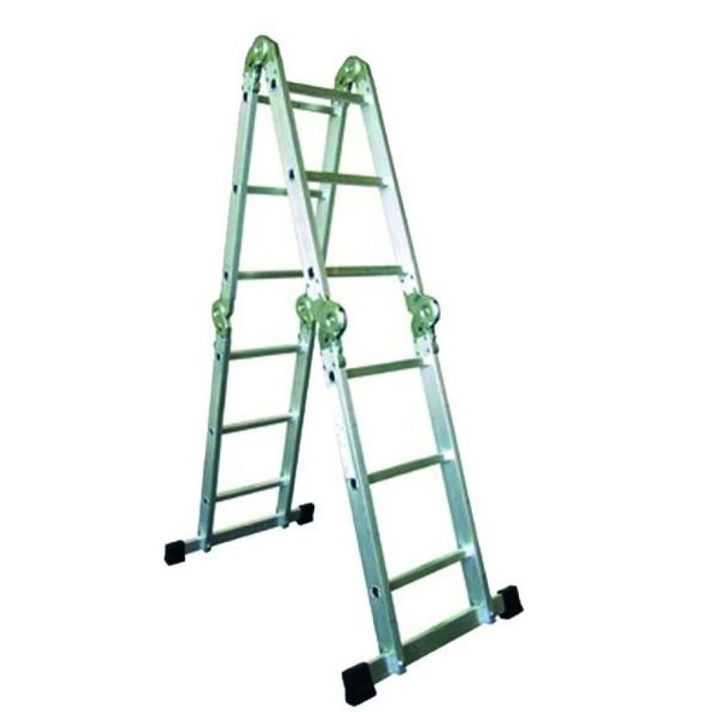 Купить Лестница трансформер ремоколор 4 секции, 5 ступеней 63-4-005