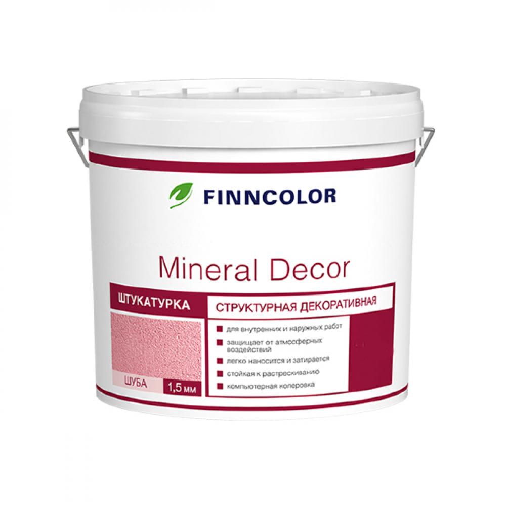 Структурная декоративная штукатурка mineral decor шуба (1.5