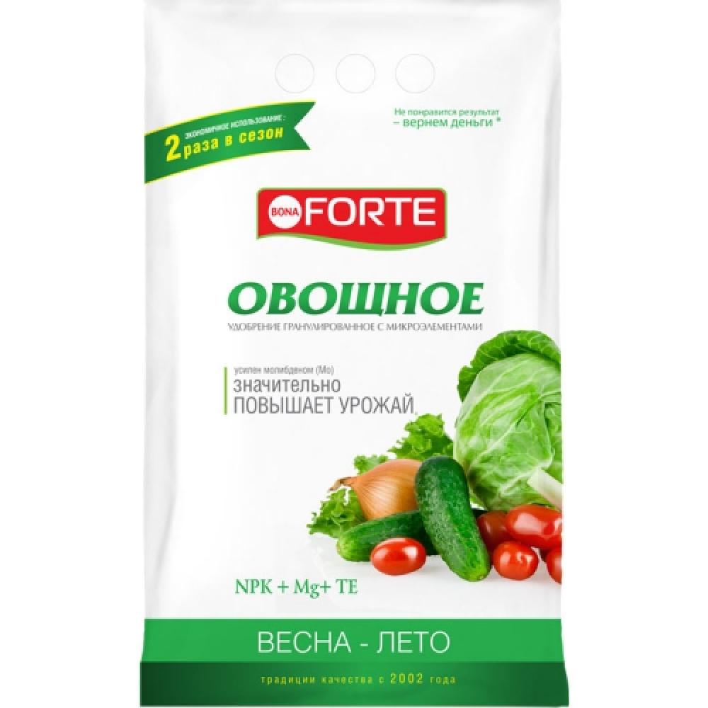 Удобрение с микроэлементами bona forte овощное, 2.5 кг bf23010221