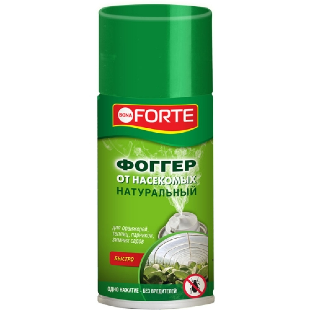 Фоггер-аэрозоль инсектицидное средство от насекомых-вредителей (150 мл) bona forte bf04300011