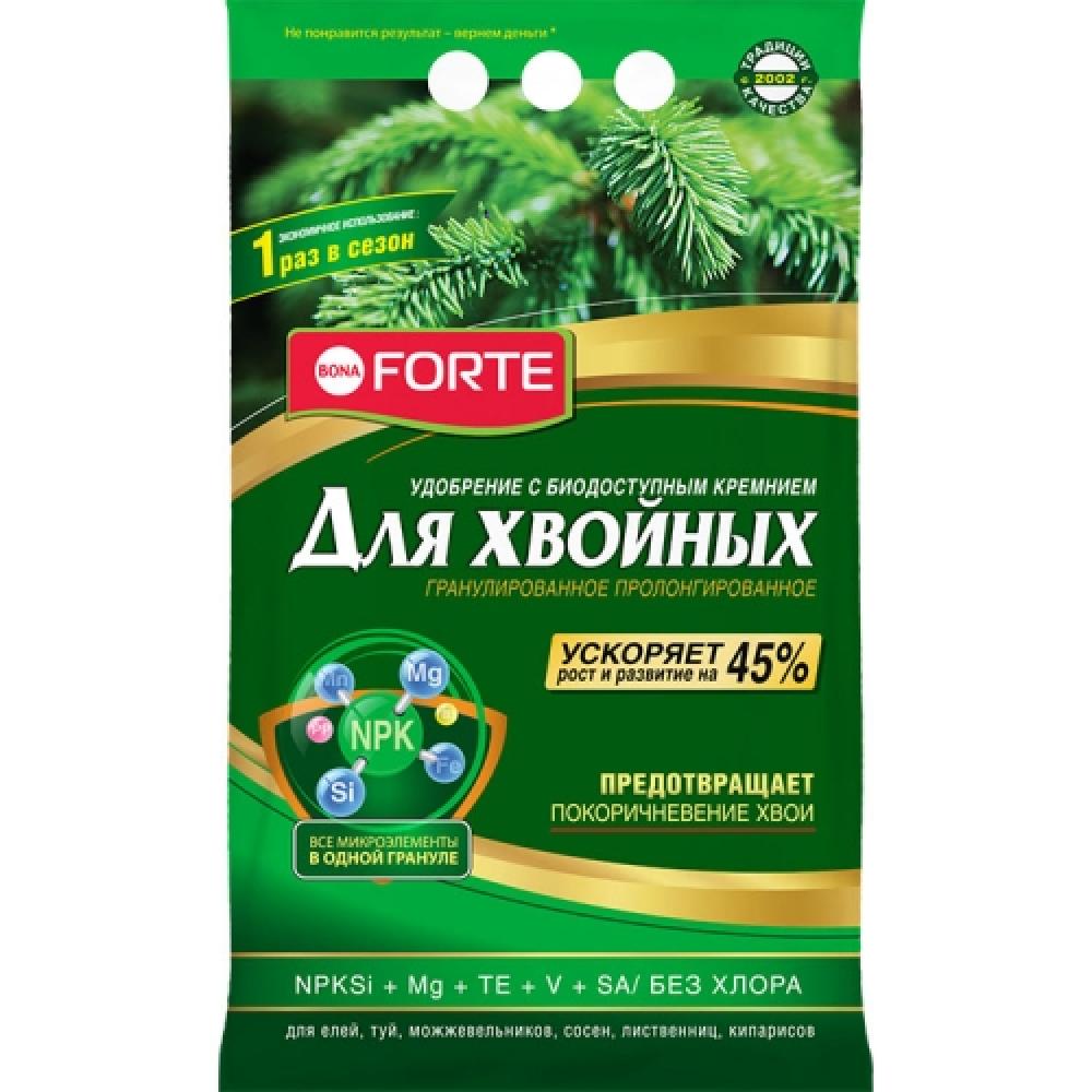 Удобрение bona forte хвойное с кремнием, 2.5 кг bf23010491