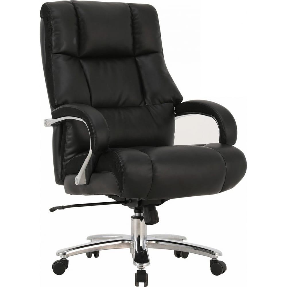 Купить Офисное кресло brabix premium bomer hd-007, нагрузка до 250 кг, рециклированная кожа, хром, черное, 531939