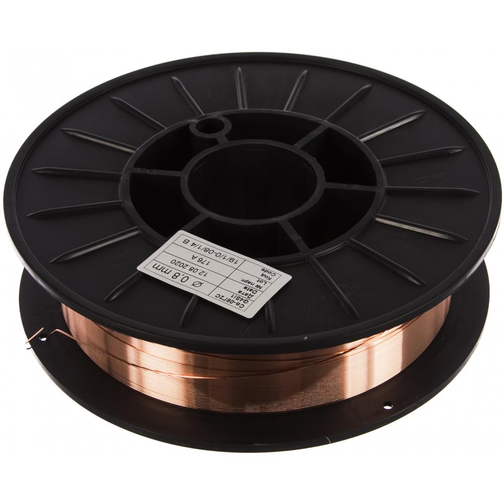 Проволока сварочная св-08г2с (0.8 мм; 4 кг) monolith 46059
