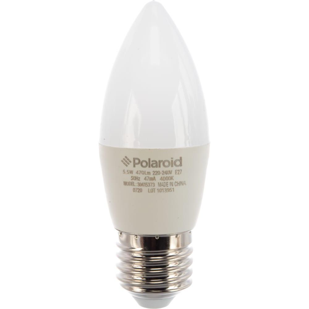 Купить Светодиодная лампа 2polaroid 20v c37 5, 5w 4000k e27 470lm pl-c3755274
