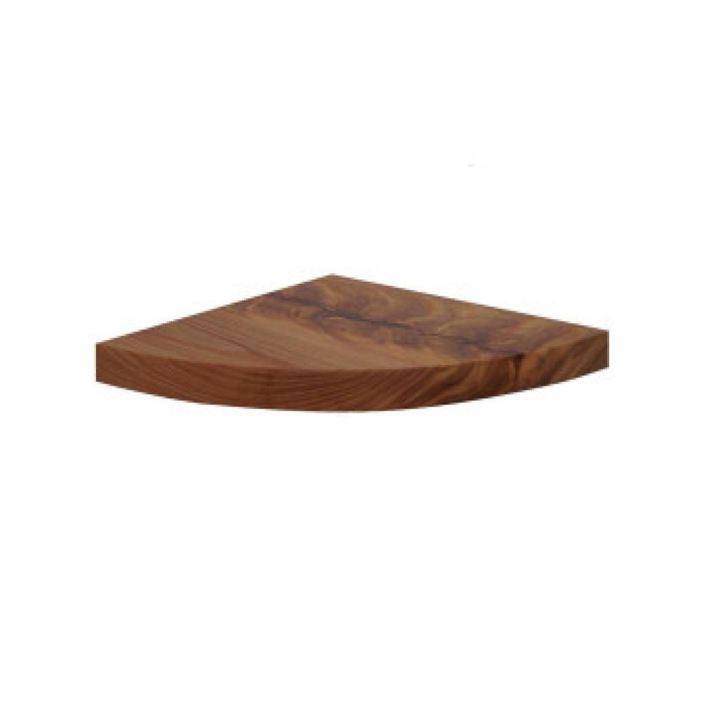 Угловая полочка из массива карагача orange cornershelf-200k