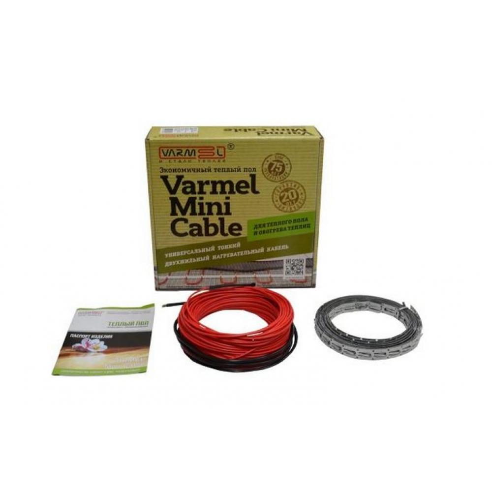 Нагревательный кабель varmel mini cable 1170вт 15вт/м