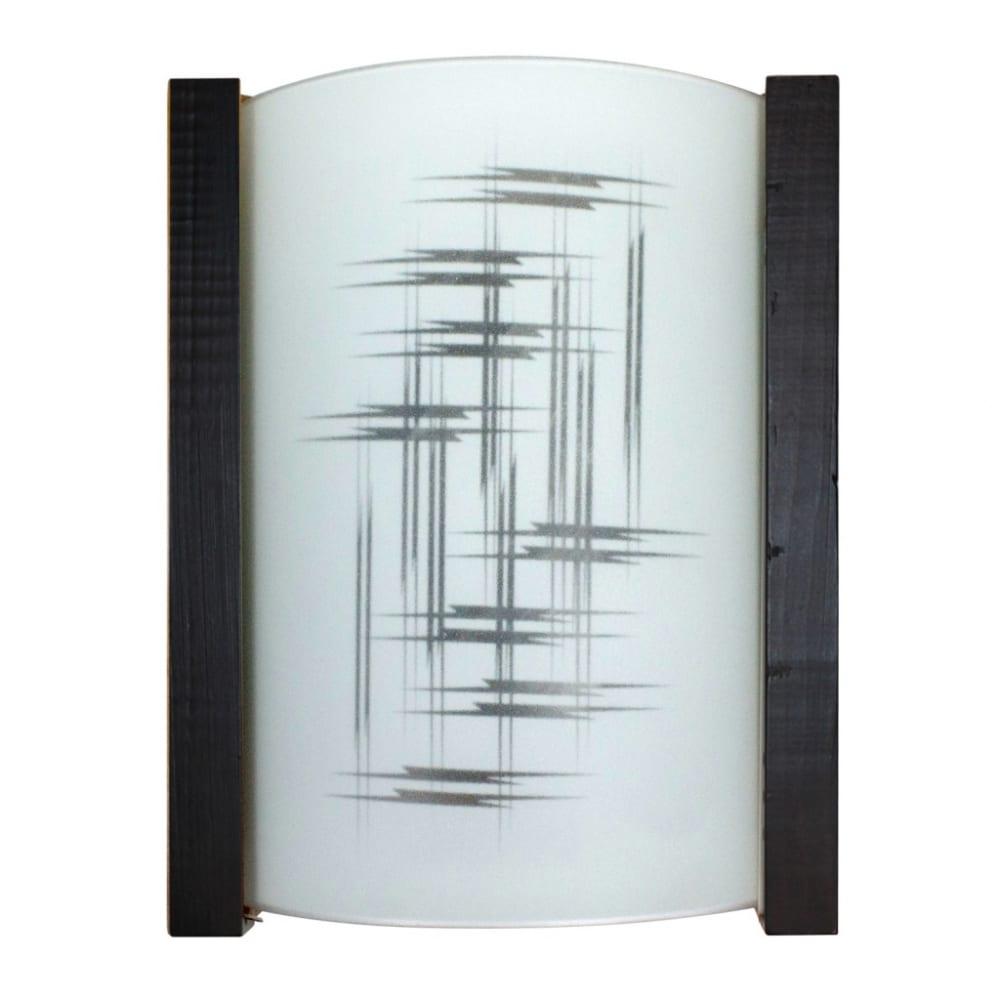 Светильник элетех карелия, 230х180х68, нбб, 01-60-501, элегант, матовый/венге, иу 1005206010