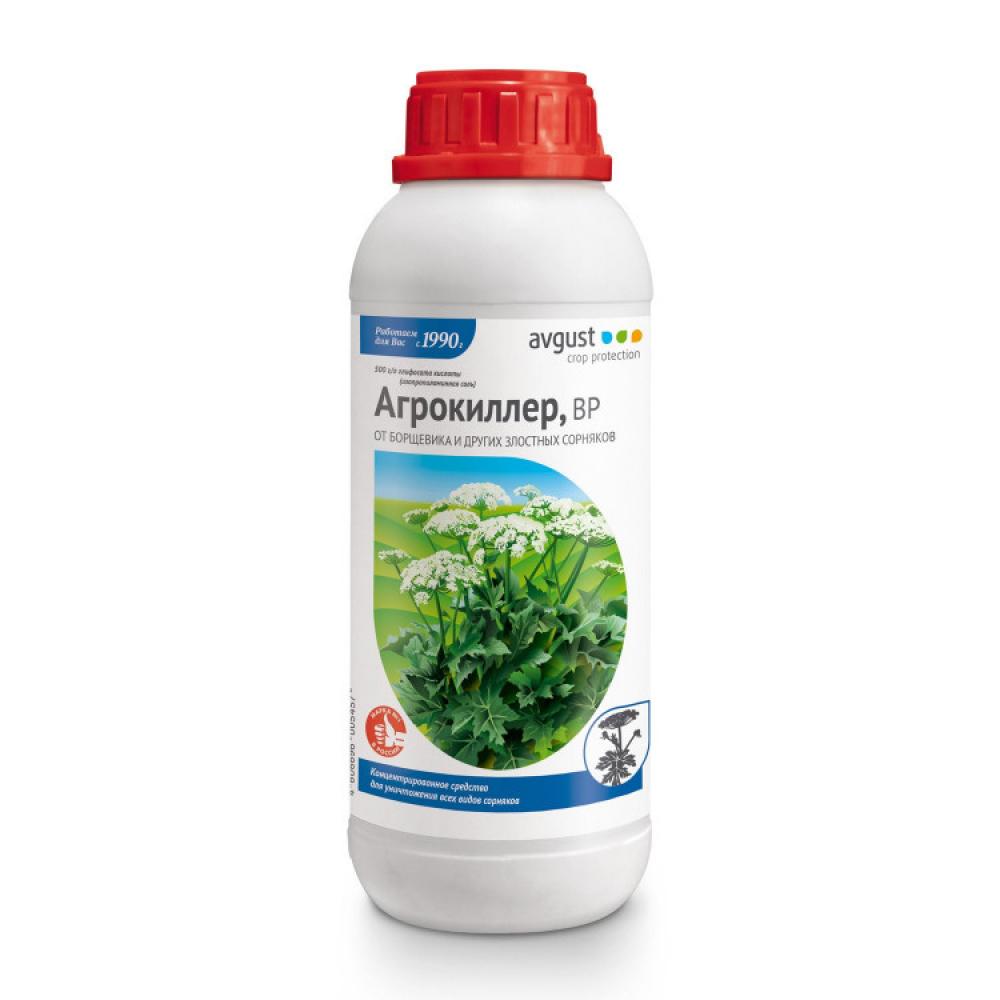 Удобрение от сорняков агрокиллер 900 мл avgust a00545
