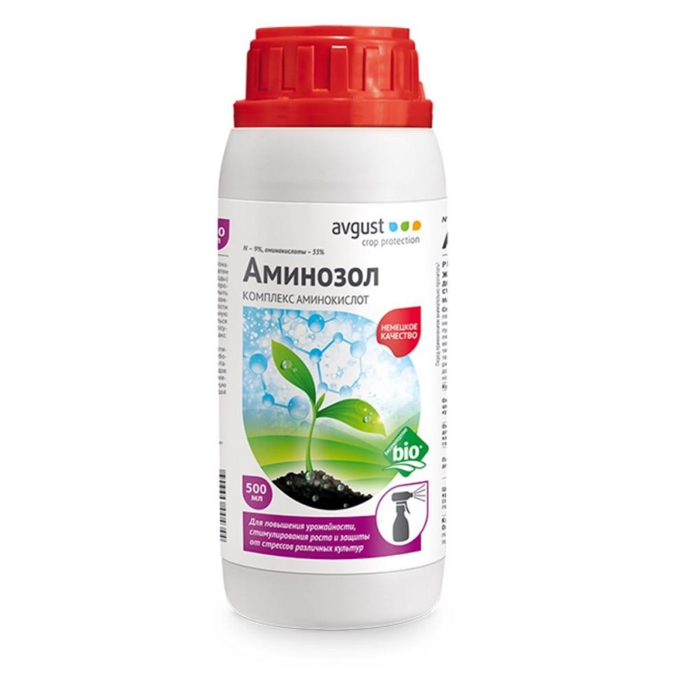 Удобрение жидкое органическое аминозол 500 мл avgust a00434.1