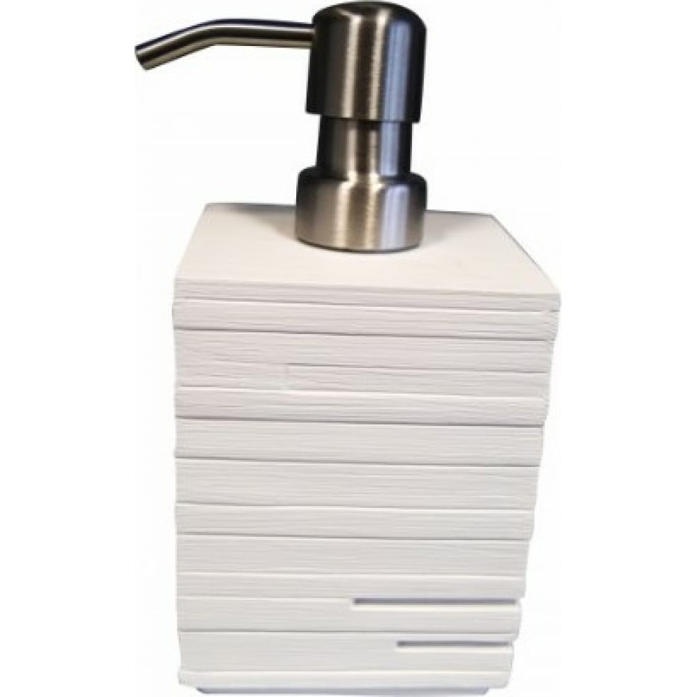 Купить Дозатор для жидкого мыла ridder brick белый 22150501