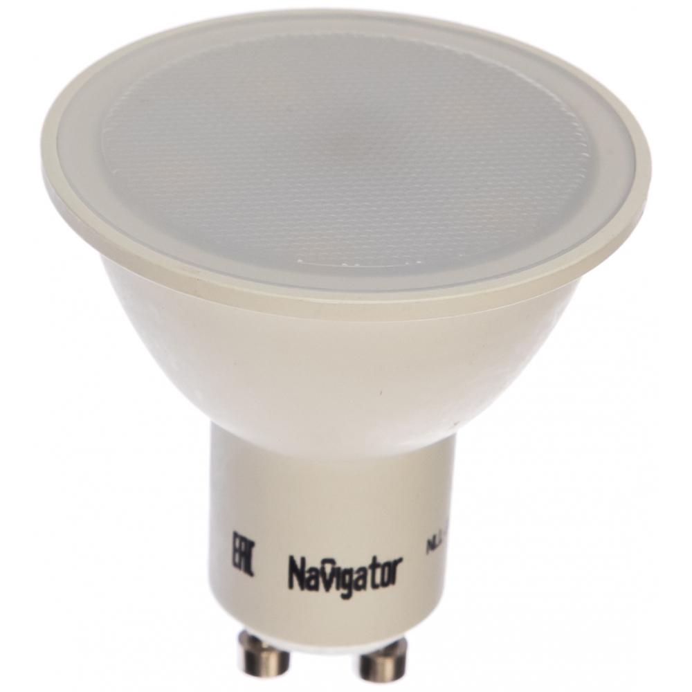Картинка для Светодиодная лампа navigator led, 5вт, 230в, gu10, белый, navigator 17963