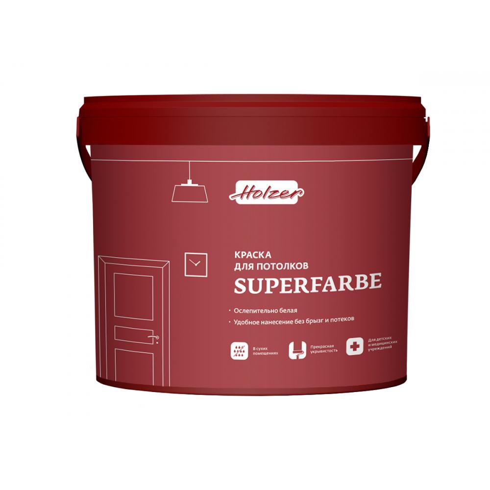 Краска holzer superfarbe 10 л 0386