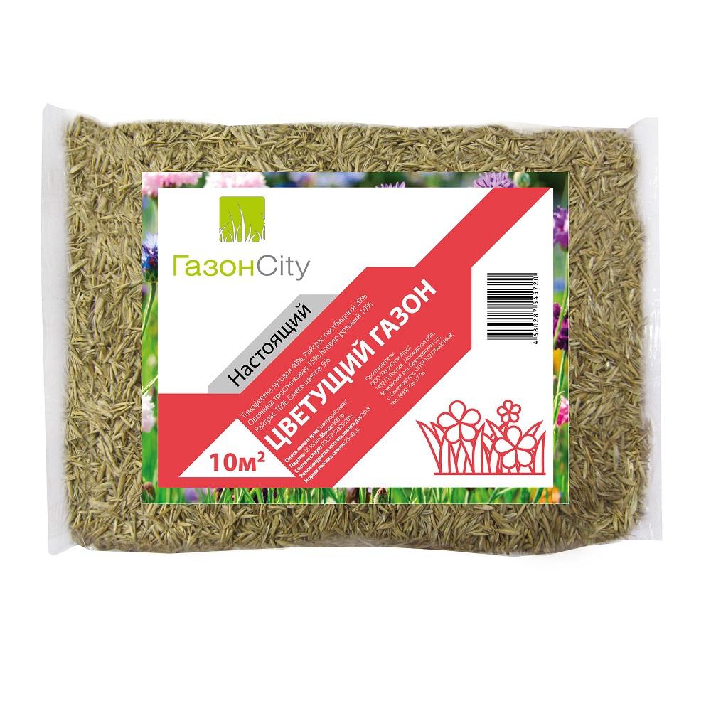 Купить Семена газона газонcity настоящий цветущий 0.3 кг 17492638