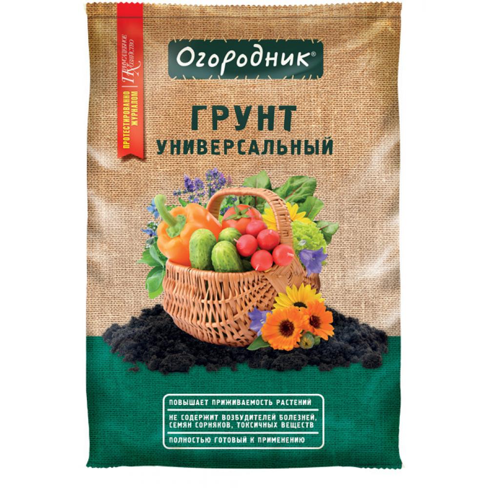 Купить Универсальный грунт огородник 25 л тп0101ого07