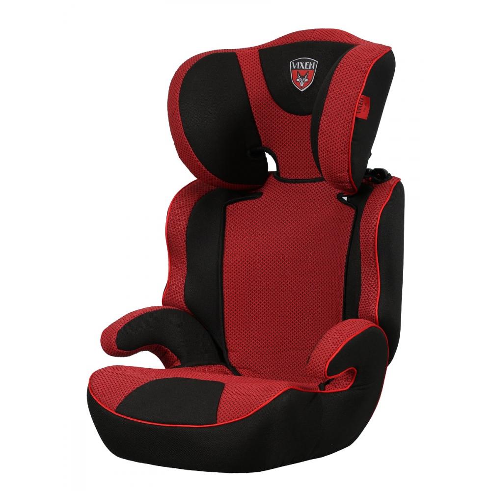 Детское автокерсло vixen лазурит, группа 2/3, цвет красный 4603745682102