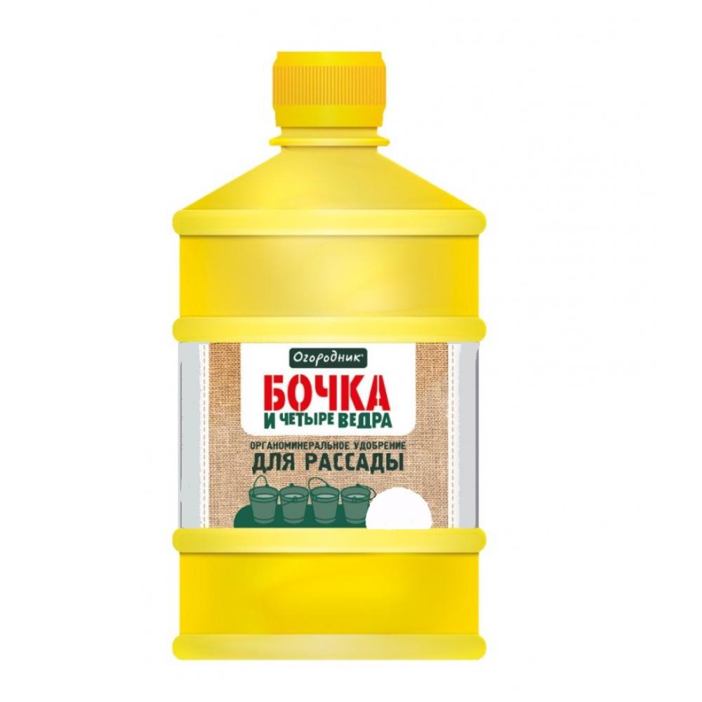 Купить Удобрение жидкое, органоминеральное 1 л для рассады бочка и четыре ведра огородник of000080811