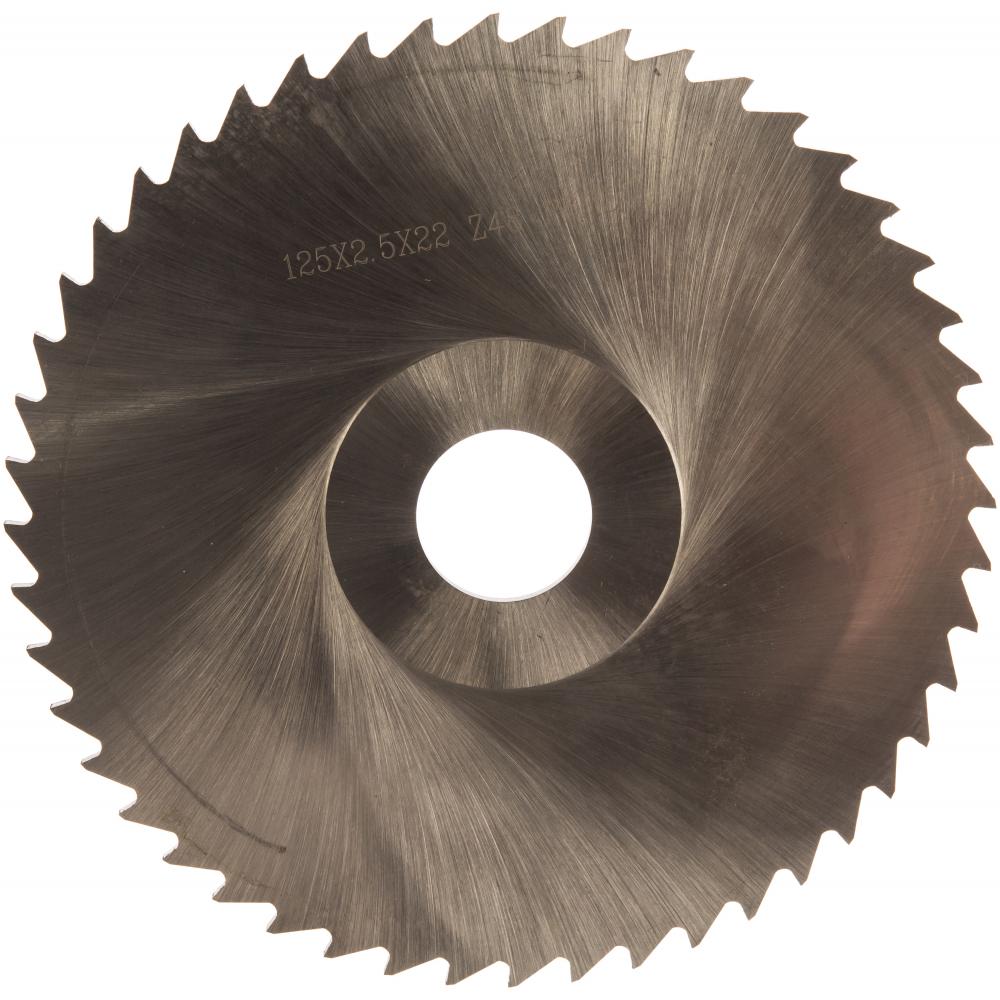 Фреза дисковая прорезная (125х2.5х22 мм; р6м5; z=48;