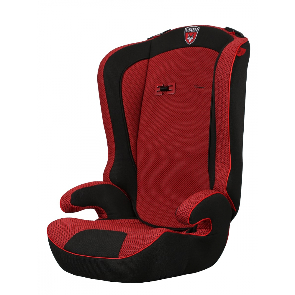 Детское автокерсло vixen оникс, группа 2/3, цвет красный 4603745682300