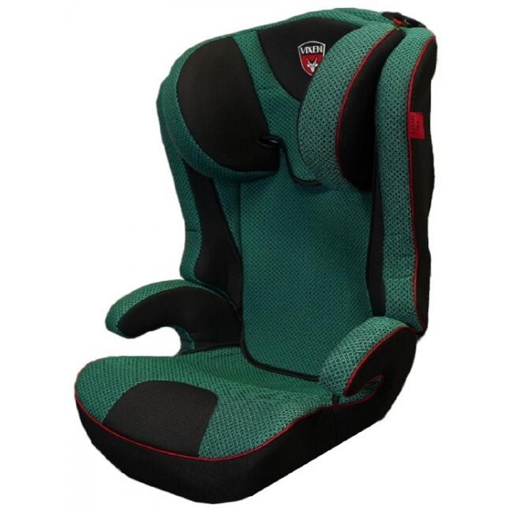 Детское автокерсло vixen оникс премиум, группа 2/3, цвет зеленый 4603745682591