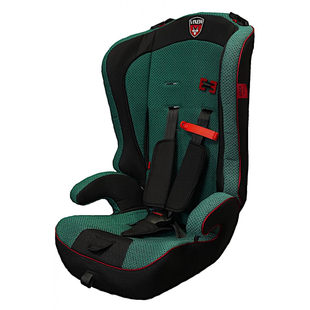 Детское автокерсло vixen оникс мини, группа 1/2/3, цвет зеленый 4603745682577