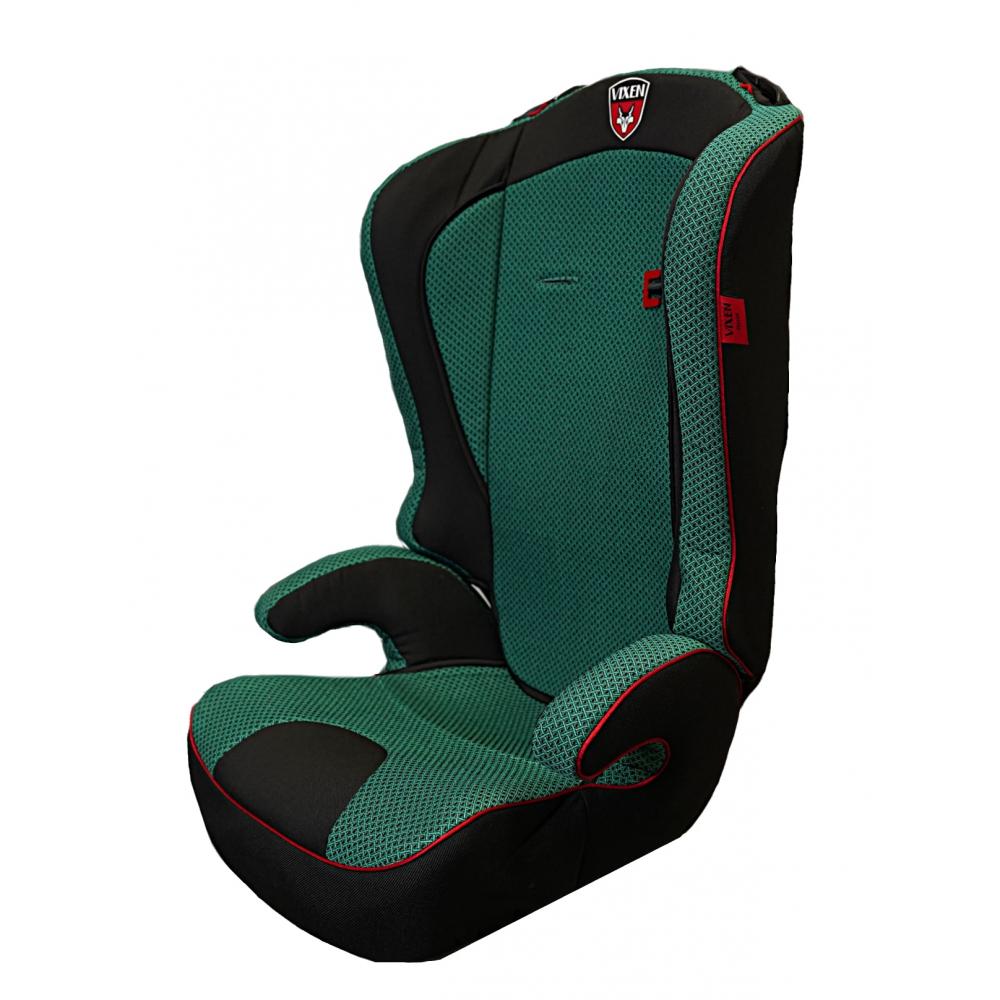 Детское автокерсло vixen оникс, группа 2/3, цвет зеленый 4603745682584