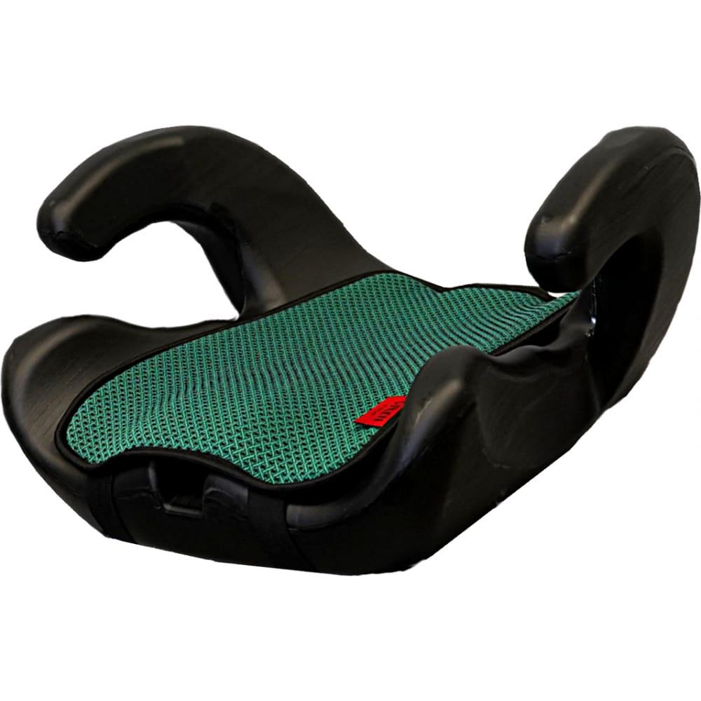Детское автокерсло vixen яшма, группа 3, цвет зеленый 4603745682607