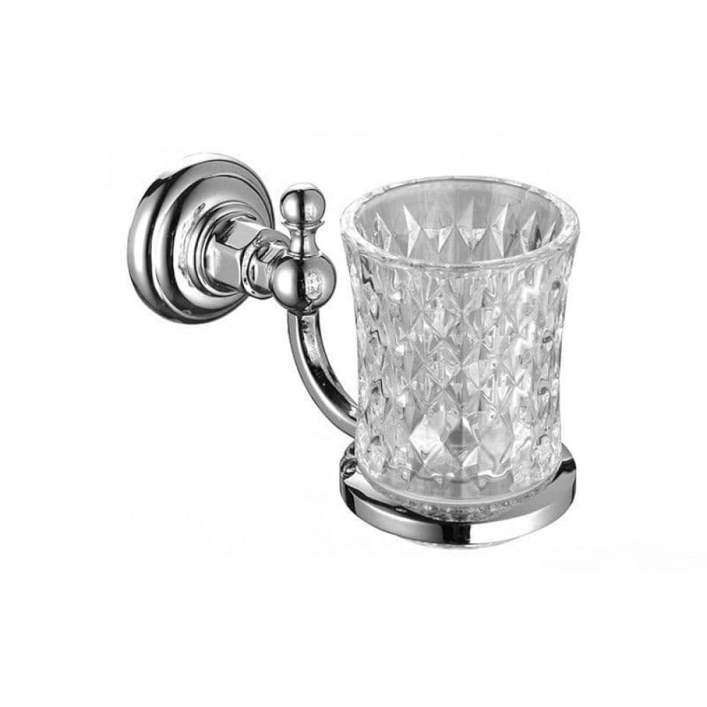 Купить Cтакан для ванной elghansa с держателем, стекло prk-412