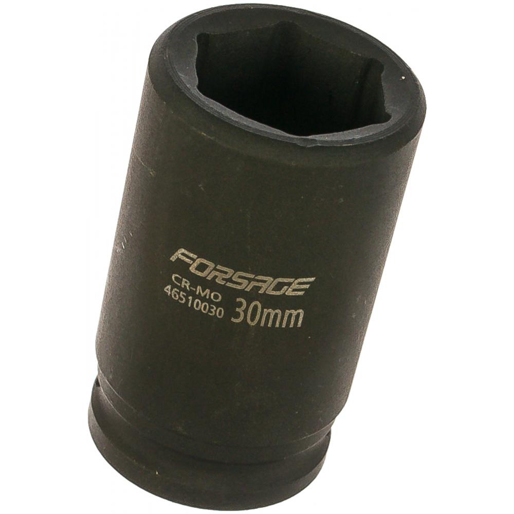 Купить Головка ударная глубокая шестигранная (30 мм; 3/4 ) forsage 6949