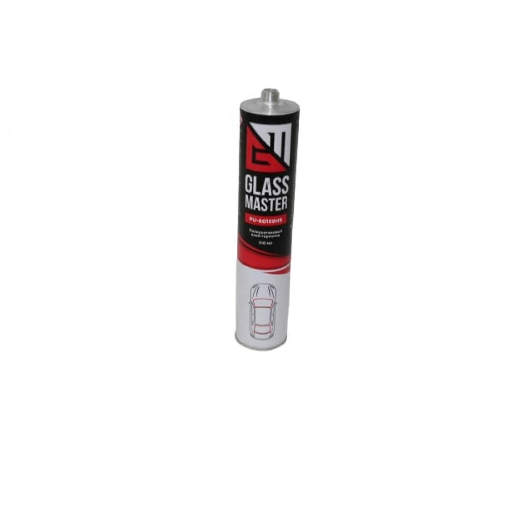 Купить Стекольный клей-герметик glassmaster pu-60159нs, черный к-23822