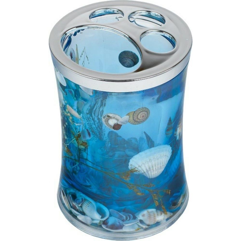 Купить Стакан для зубных щеток delphinium синий а8923 в6 106002