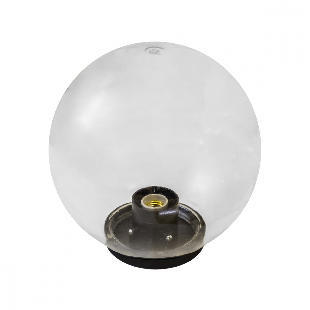 Садово-парковый светильник эра нту, 01150402, шар, d400mm, прозрачный б0048051
