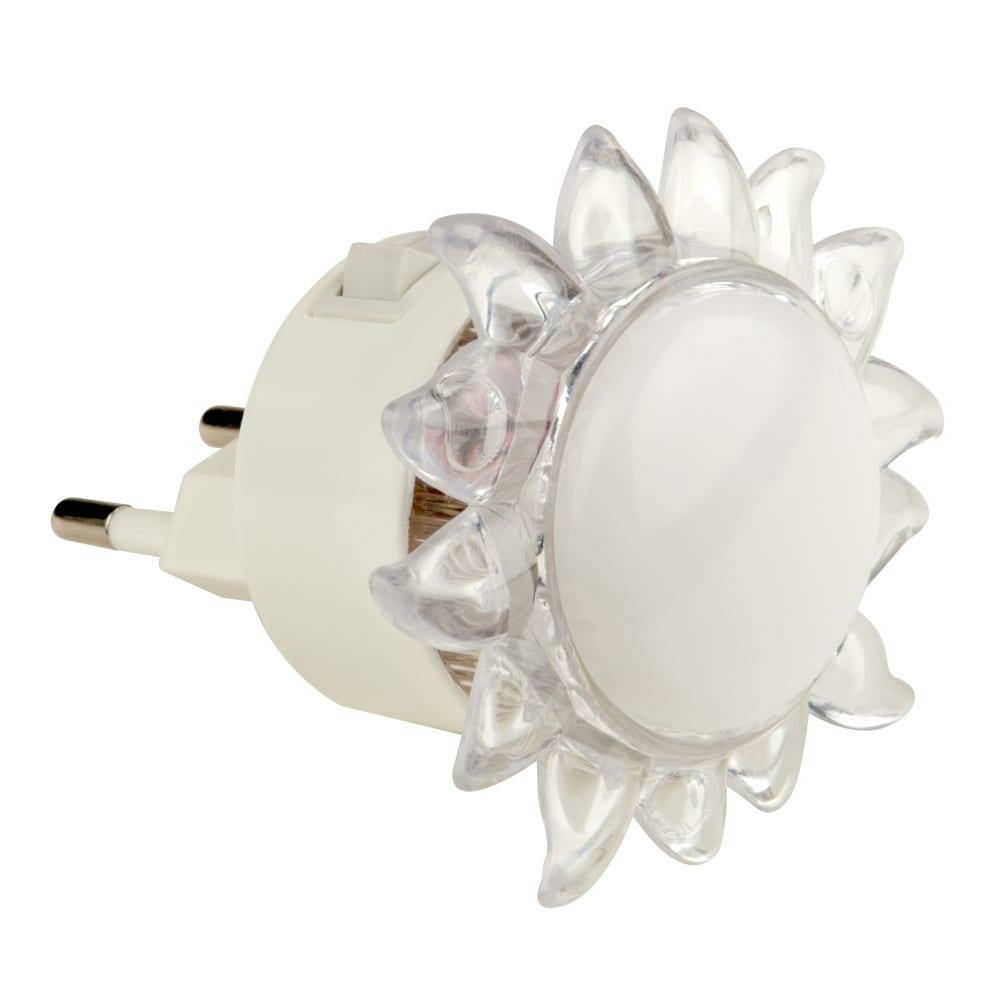 Купить Светильник-ночник uniel, выключатель на корпусе, dtl-308-подсолнух/rgb/4led/0, 5w, 10322