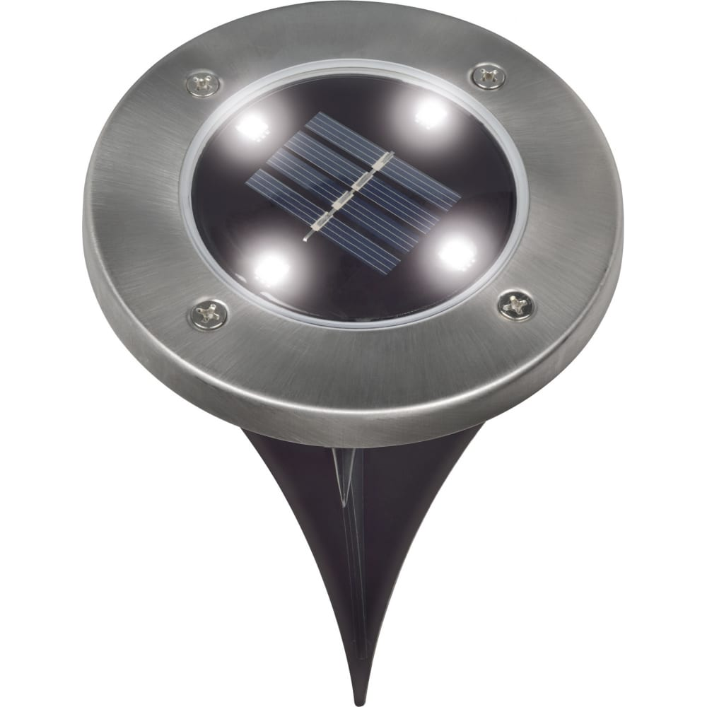 Купить Садовый светильник на солнечной батарее uniel usl-f-171/pt130, inground ul-00004274