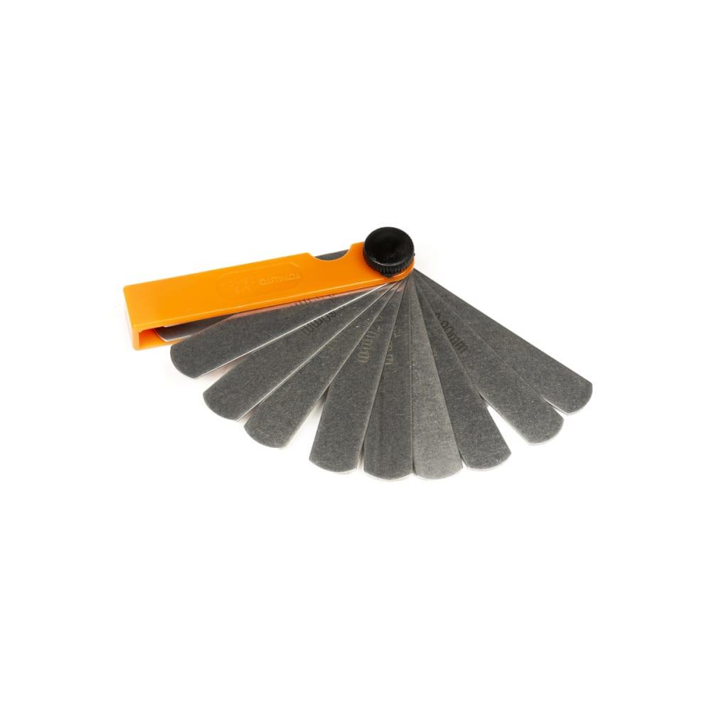 Купить Щупы для измерения зазоров topauto набор №3, 70мм, 11 листов, блистер ищ370- п