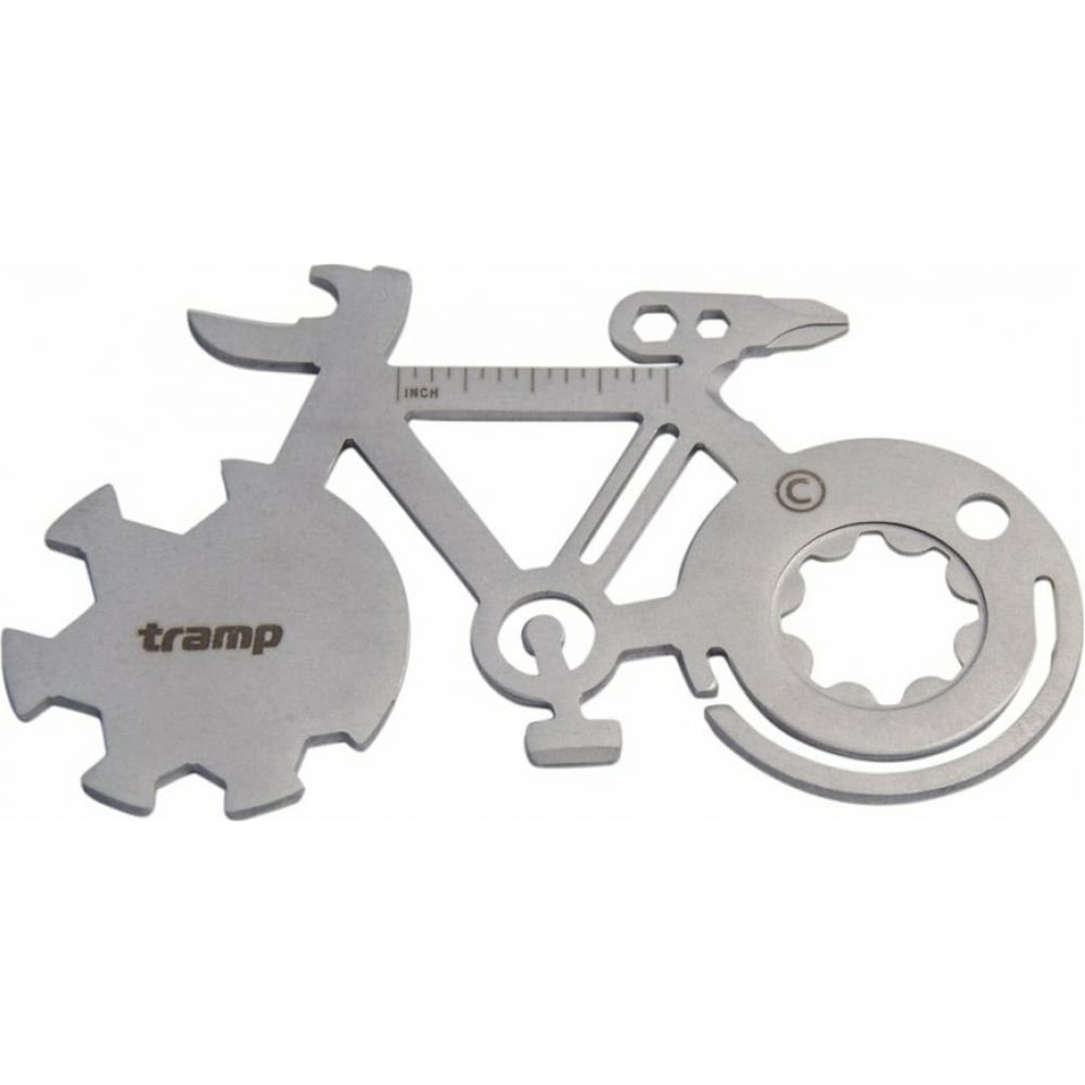 Карта-мультитул tramp bicycle сталь tra-230