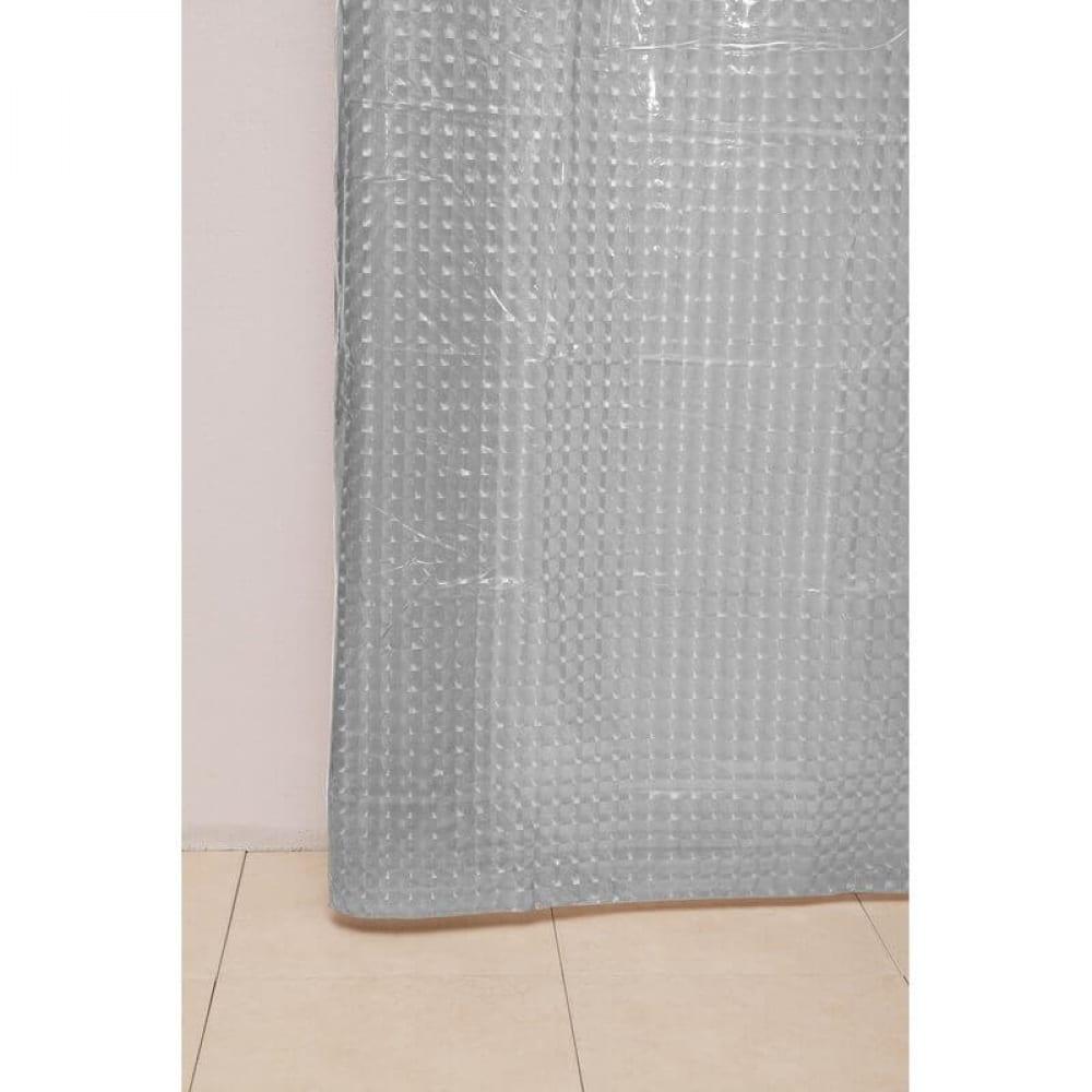 Купить Штора для ванной delphinium а-023 3d 0000 прозрачная, 180х180 104104