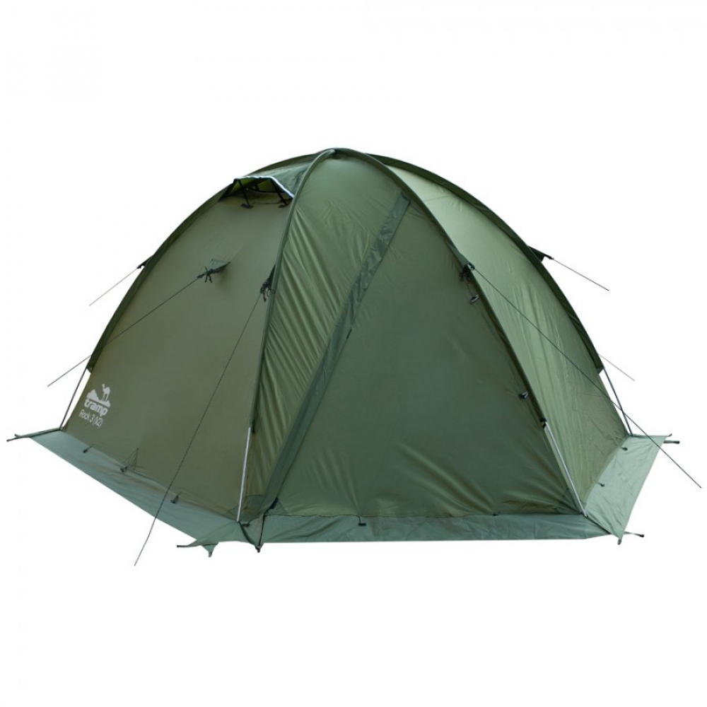Палатка tramp rock 3 зеленый trt-28 8354