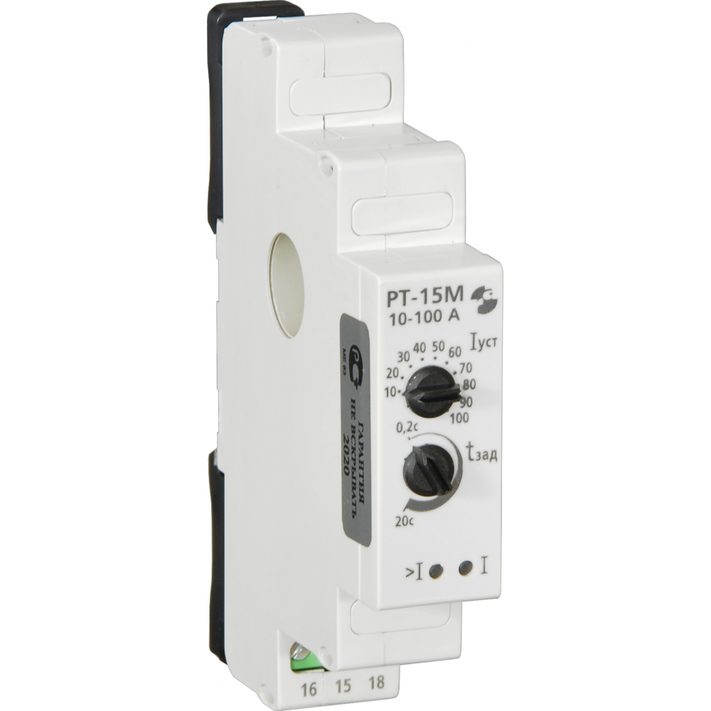 Реле тока реле и автоматика рт-15м 10-100а, встроенный датчик тока, a8222-77137932