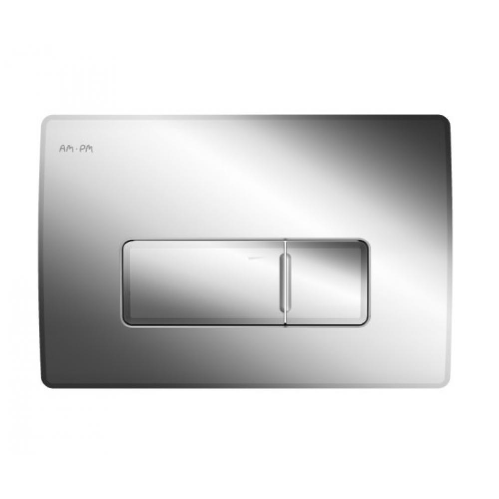 Пневматическая клавиша для инсталляции am.pm pro m пластик глянцевый хром i048051.