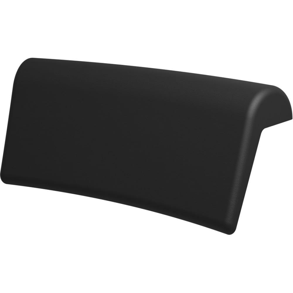 Подголовник для ванны riho colorado черный ah11110