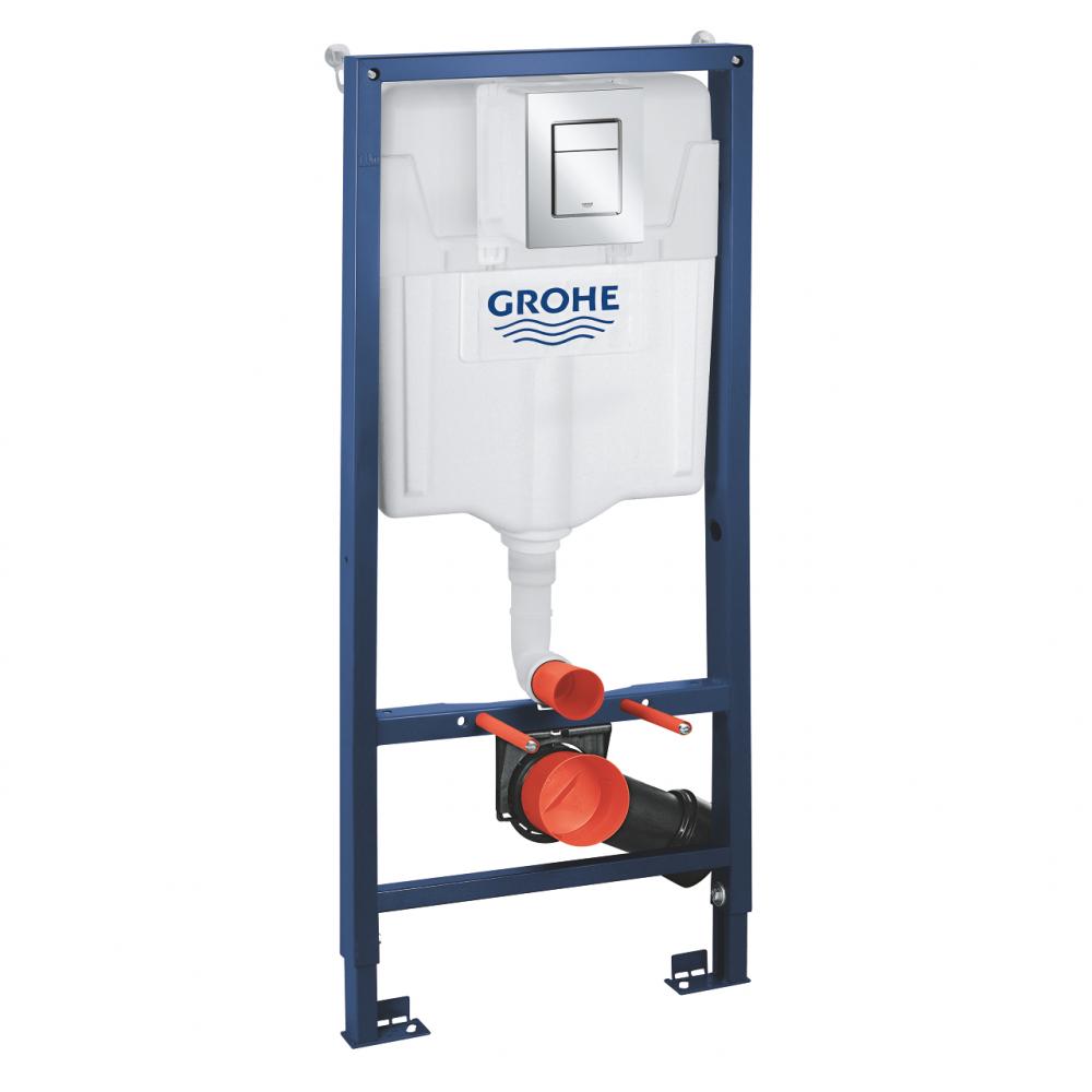 Комплект 3 в 1 для подвесного унитаза grohe rapid sl 39501000