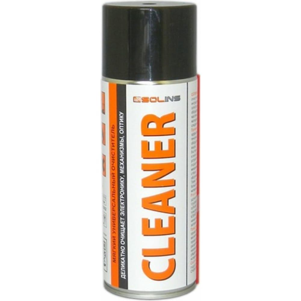 Спиртовой спрей очиститель solins cleaner для электронного