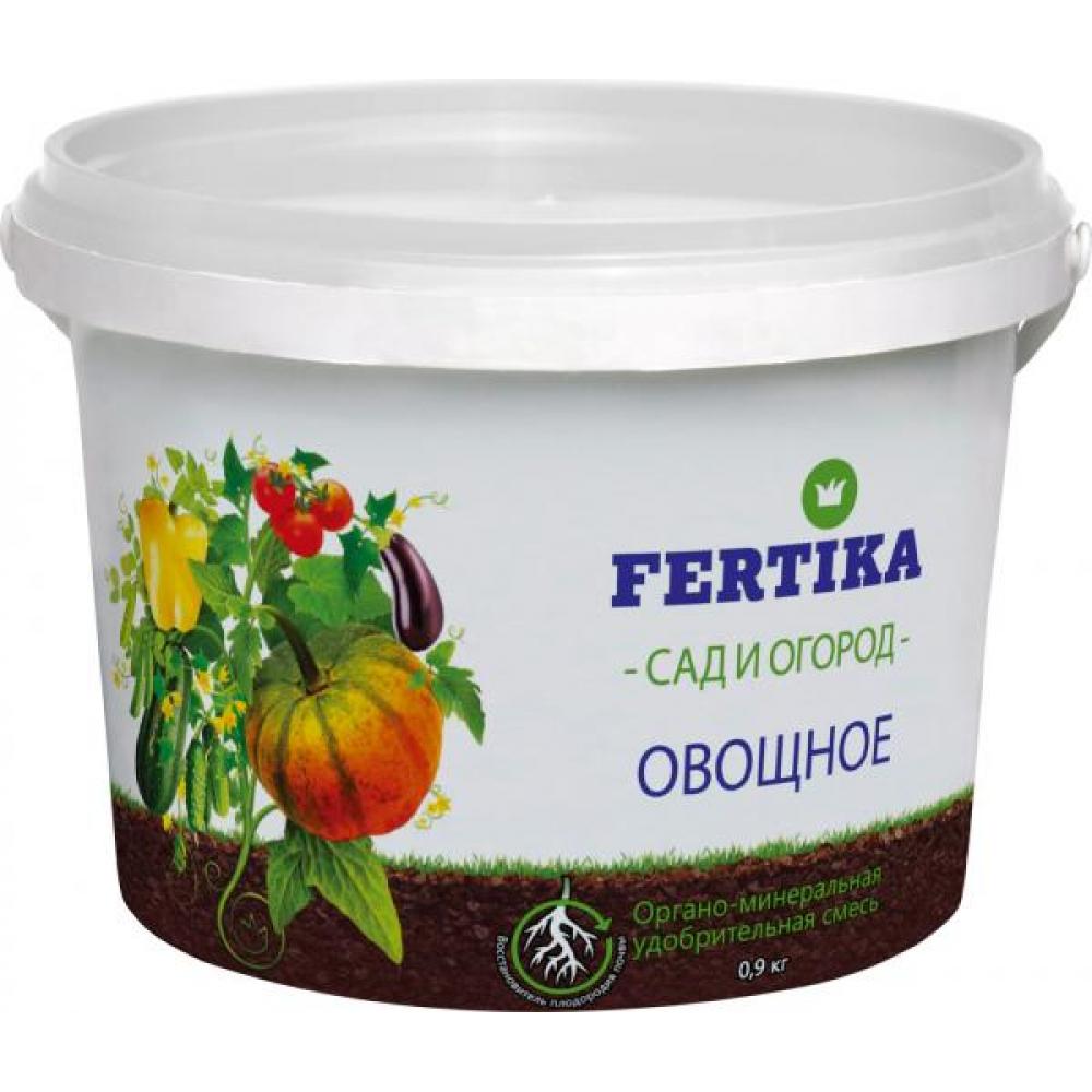 Купить Органо-минеральная удобрительная смесь fertika овощное 0.9 кг 4620005610484