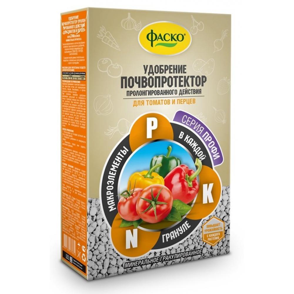 Купить Сухое минеральное гранулированное удобрение фаско почвопротектор для томатов и перцев 1 кг уд0102фас55