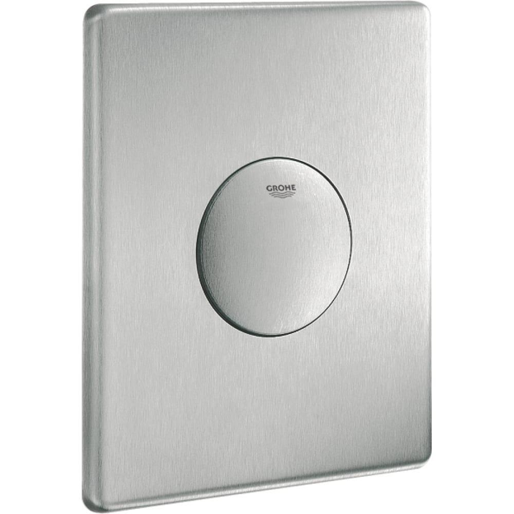 Купить Накладная панель grohe skate 1 объем смыва, нержавеющая сталь 38672sd0