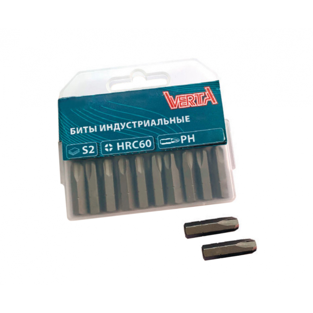Купить Биты ultraprofi (20 шт; ph4; 25 мм) verta vup63-120