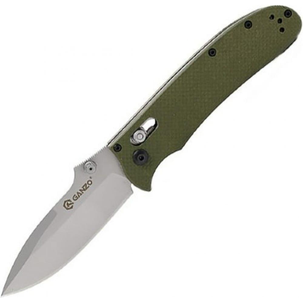 Купить Нож ganzo g704 зеленый, g704-gr